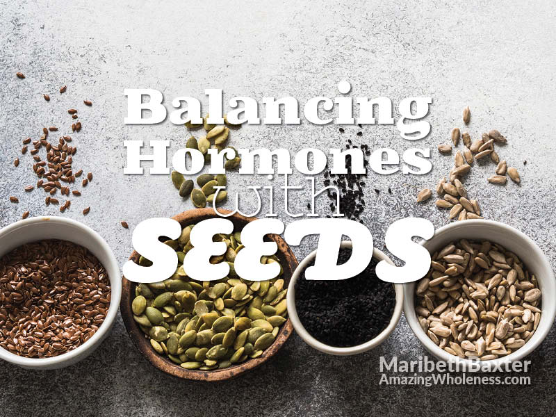 balancing hormones with seeds