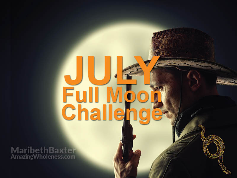 full moon challenge July 2019