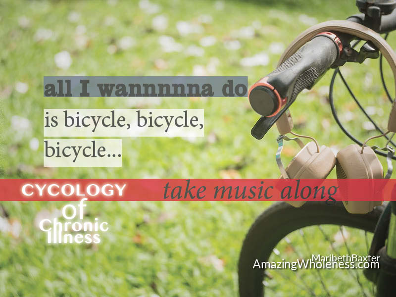 all I wanna do is bicycle, bicycle, bicycle -- cytology of chronic illness
