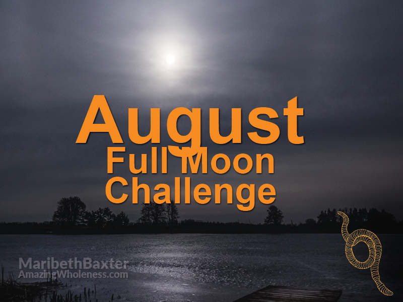 Full moon challenge, parasites, August 2019