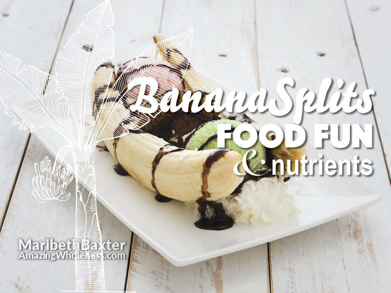 banana splits, food and nourishment