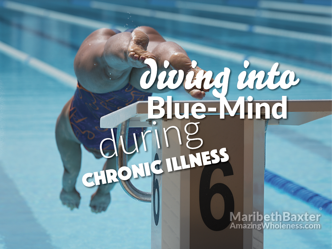 diving into blue-mind during chronic illness