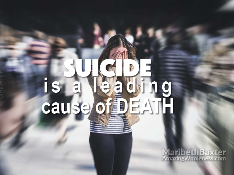 suicide is a leading cause of death
