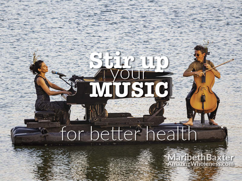 stir up your music for better health