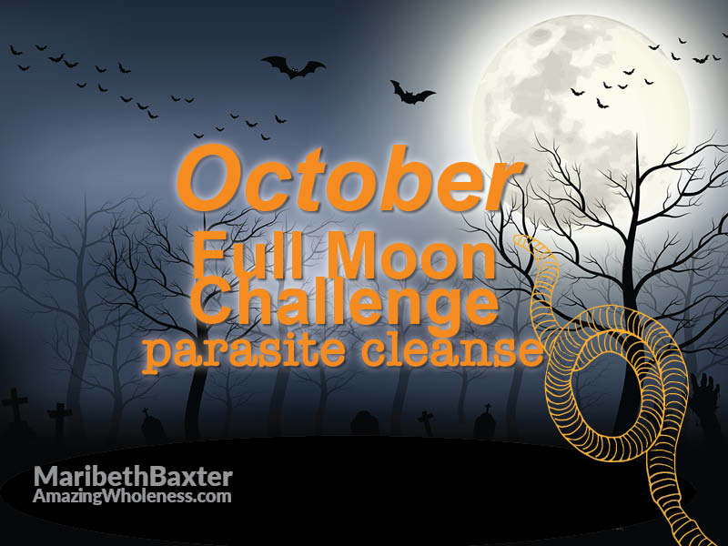 full moon challenge - parasites - October 2019