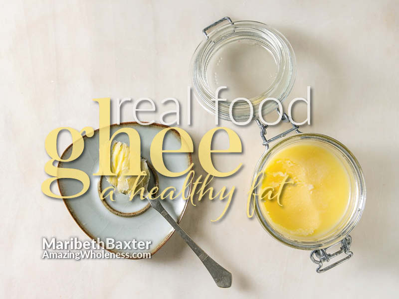 real food - ghee