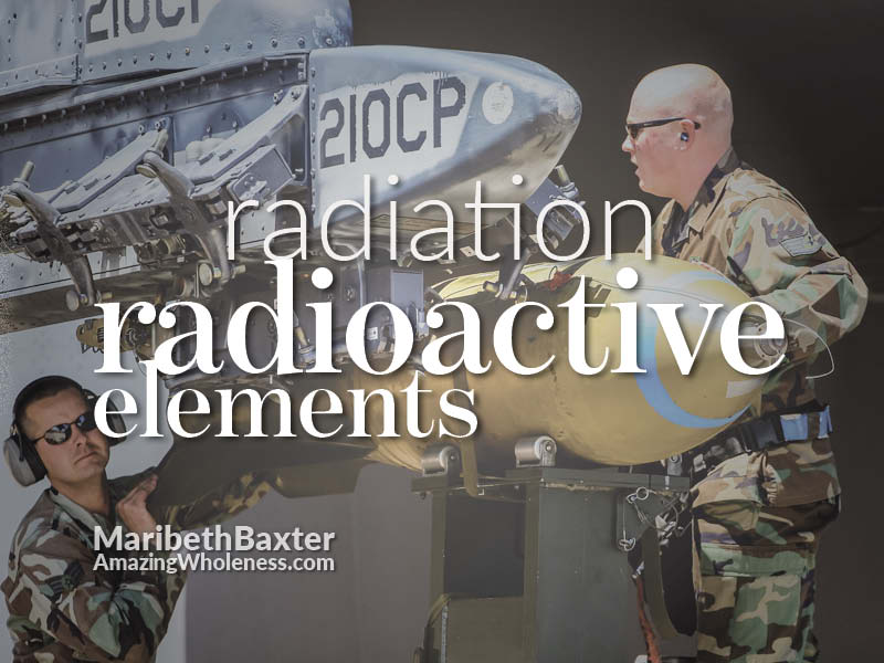 radiation, radioactive elements, military exposure