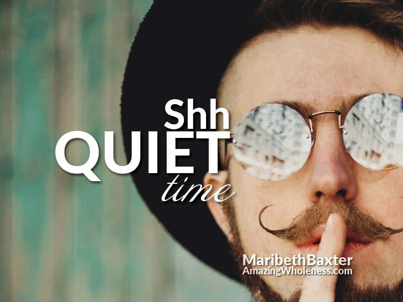 shh quiet time