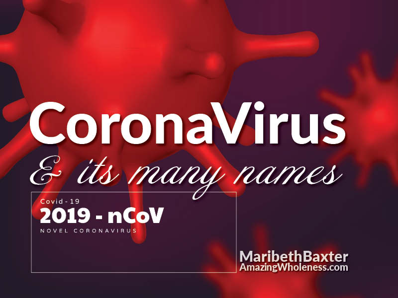 CoronaVirus and Its Many Names