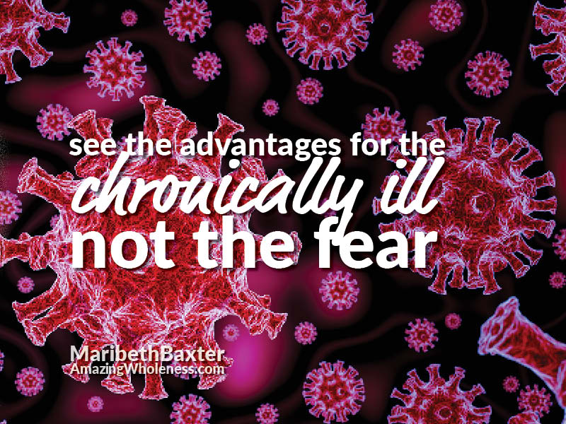 See the advantages for the chronically ill, not the fear.